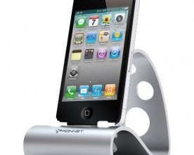 Product – Stylish Metallic Stand for iPhone / iPod