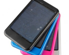 Product – 5000mAh power bank Mobile solar charger