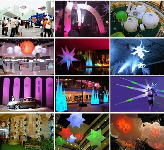 inflatable Led Night Club decoration4_copy