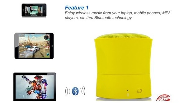 Mini Bluetooth Speaker with Suction base1_copy