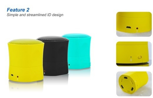 Mini Bluetooth Speaker with Suction base2_copy