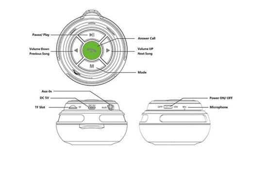 Bluetooth Speaker PS-8(6)_copy