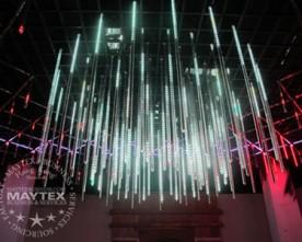 Audit – Falling Led Lights – DMX Vertical Led Tube Factory