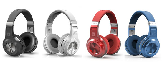 Bluetooth  4.1 headphone with advanced app management support FM and TF card