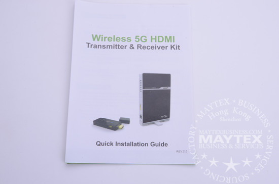 Wireless 5G HDMI Transmitter And Receiver Kit