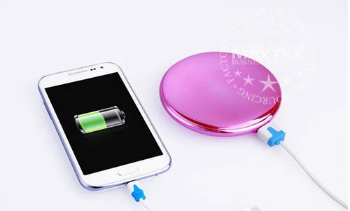 Cosmetic Mirror Portable Power Bank