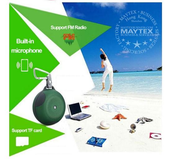 Sports Clip Waterproof Bluetooth Speaker