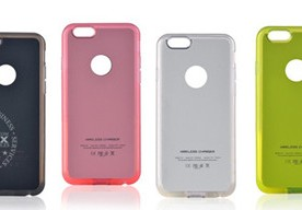 Product -Colorful Wireless Charging Receiver Case For iPhone6 / iPhone 6 Plus