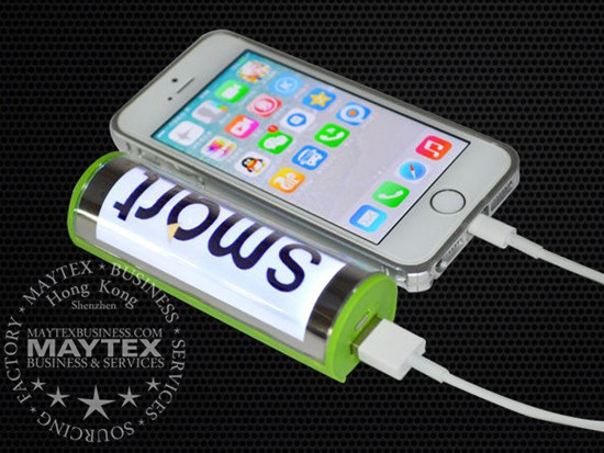 Promotion Gift Of LED Advertising  Power Bank With Suckers