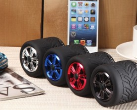 Product – Wheel Rolling Bluetooth Speaker