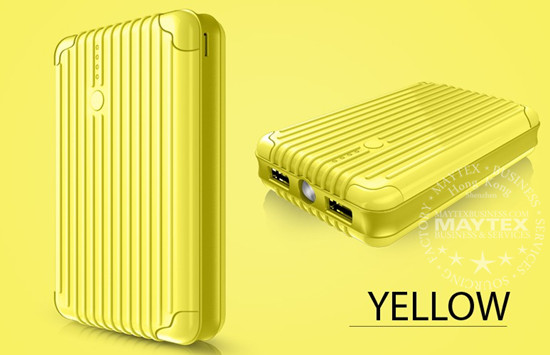 Portable Luggage Box Universal Power Bank 12000mah with Ultra Bright Flashlight