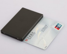 Product – Credit card Aluminium made power bank