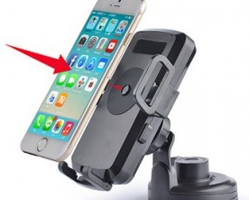Product – Wireless Car Charger With Automatic Lock Technology