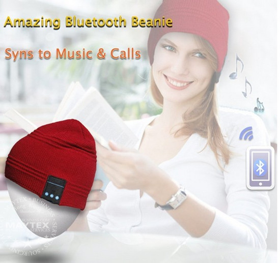 Winter Beanie Bluetooth Headset