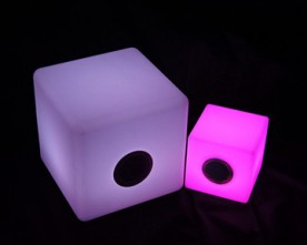 Product – Wireless Multi – Color LED Cube Bluetooth Speaker