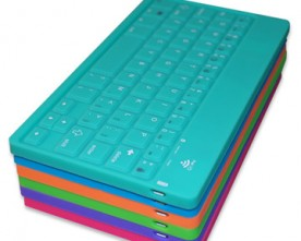 Product – Colorful Silicone  Bluetooth Keyboard For Tablet PC