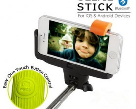 Product – Monopod Selfie Stick With Bluetooth Shutter For iOS And Android Devices