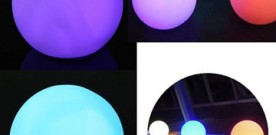 Product – Bar Decor Color Changing LED Ball