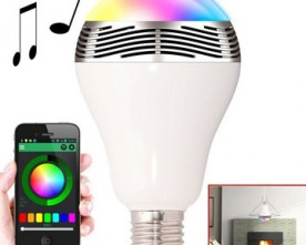 Product – 7 Colors Led Bulb Bluetooth Speaker