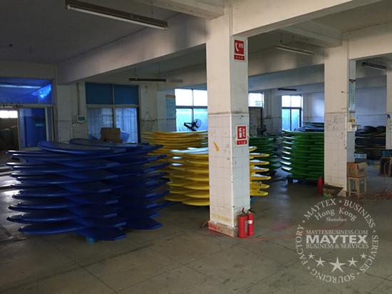 soft surfboard factory